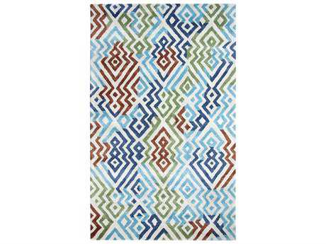 Dynamic Vogue Modern Hand Made Wool Abstract 2' x 4' Area Rug - VO24881000561