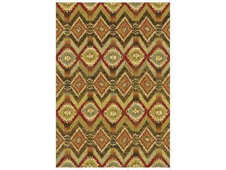 Dynamic Heritage Transitional Brown Machine Made Synthetic Geometric 2'2'' x 7'7'' Area Rug - HE28893532292