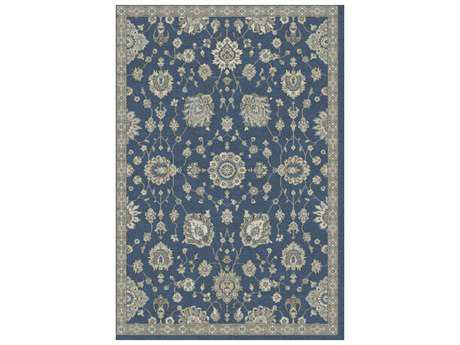 Dynamic Farahan Traditional Blue Machine Made Synthetic Oriental 2' x 3'11'' Area Rug - FH24950525292