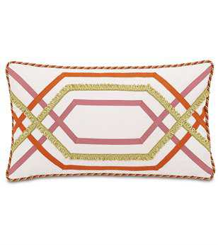 Eastern Accents Caroline Witcoff Ivory With Trims Pillow