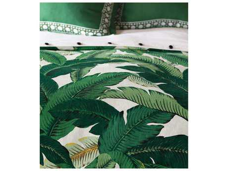 Eastern Accents Lanai Palm Button-Tufted Comforter Super Queen - DV1-377B