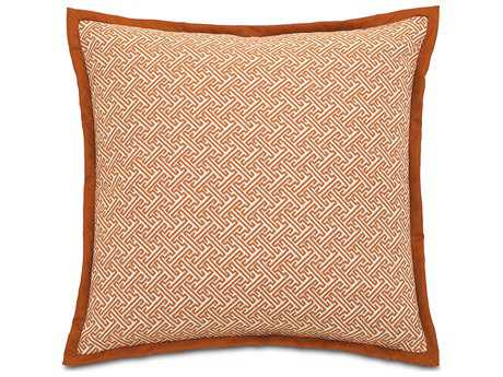 Eastern Accents Indira Ingalls Orange Euro Sham