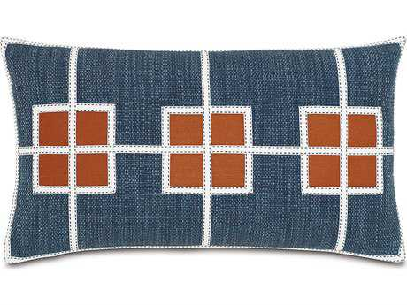 Eastern Accents Indira Gilmer Indigo with Square Inserts Accent Pillow