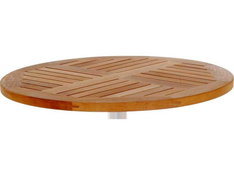 Emu tom teak 24 round table top 1440 for Round teak table top