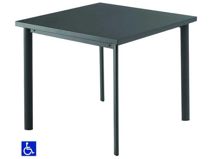 EMU Star Steel 40 Square Dining Table 303