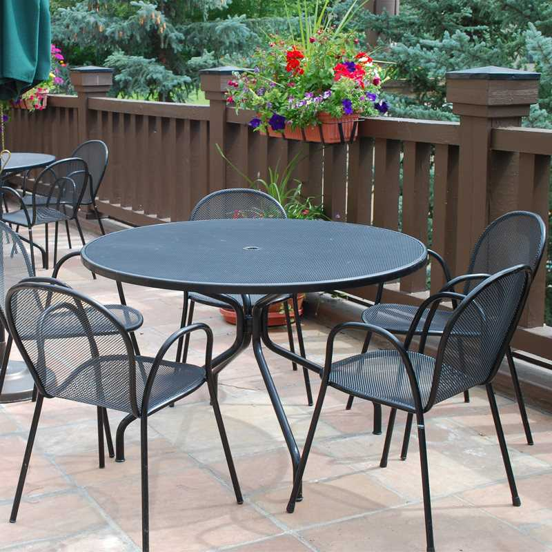 emu cambi 36 round dining table 813