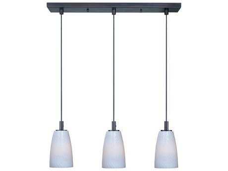 ET2 Carte Led Modern Glass LED Bronze Kitchen Island Light Fixture - E94203-13BZ