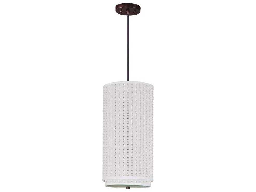 et2 elements oil rubbed bronze white weave 10 39 39 wide. Black Bedroom Furniture Sets. Home Design Ideas