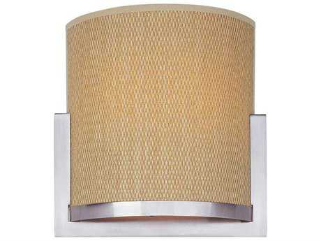ET2 Elements Satin Nickel Two-Light Wall Sconce