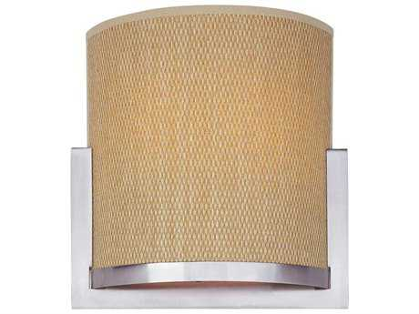 ET2 Elements Satin Nickel Two-Light Fluorescent Wall Sconce