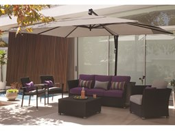 treasure garden cantilever aluminum 10 x 13 foot cantilever umbrella list price free shipping from