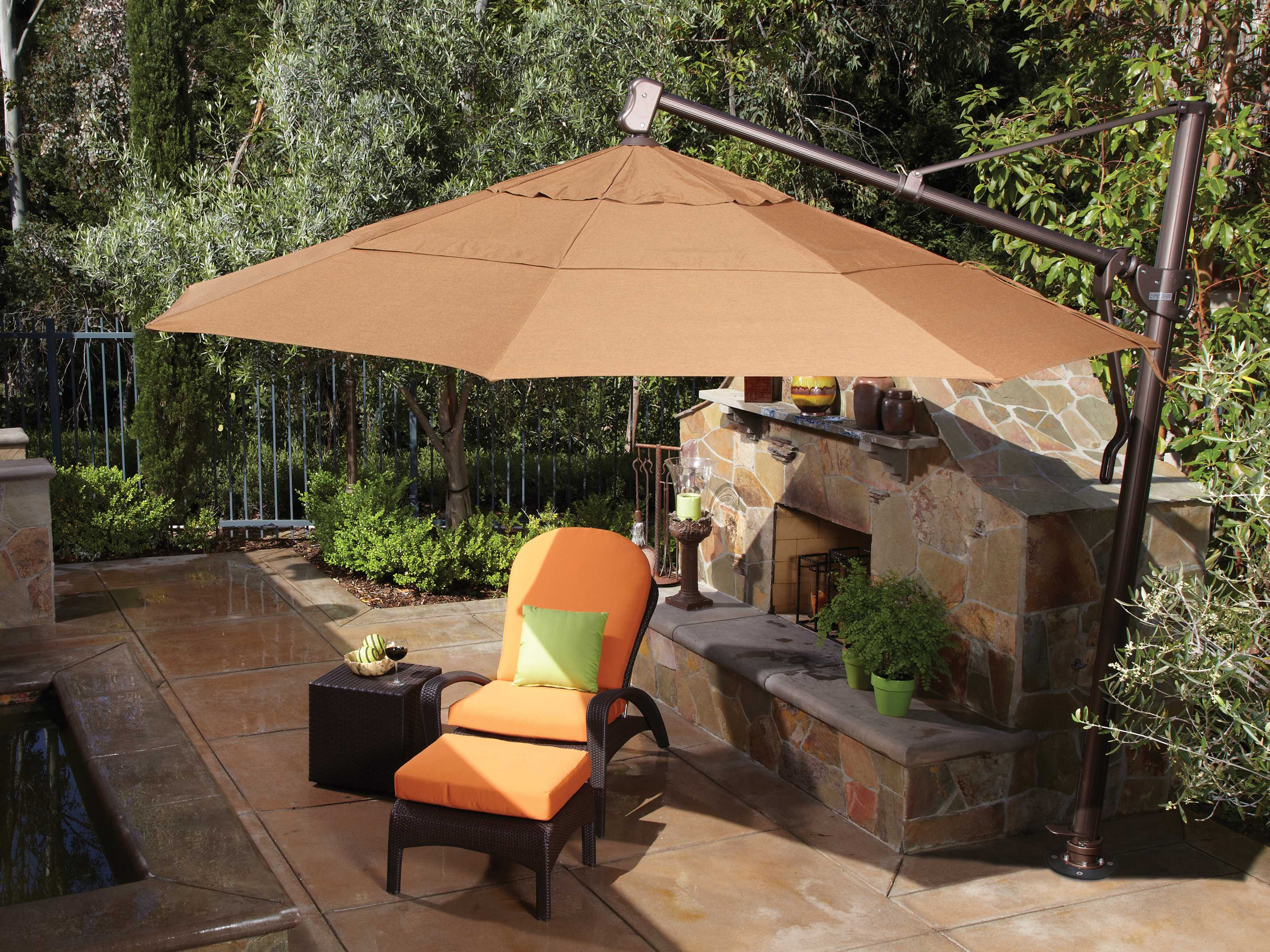 Offset Patio Umbrellas Cantilever Outdoor Umbrellas
