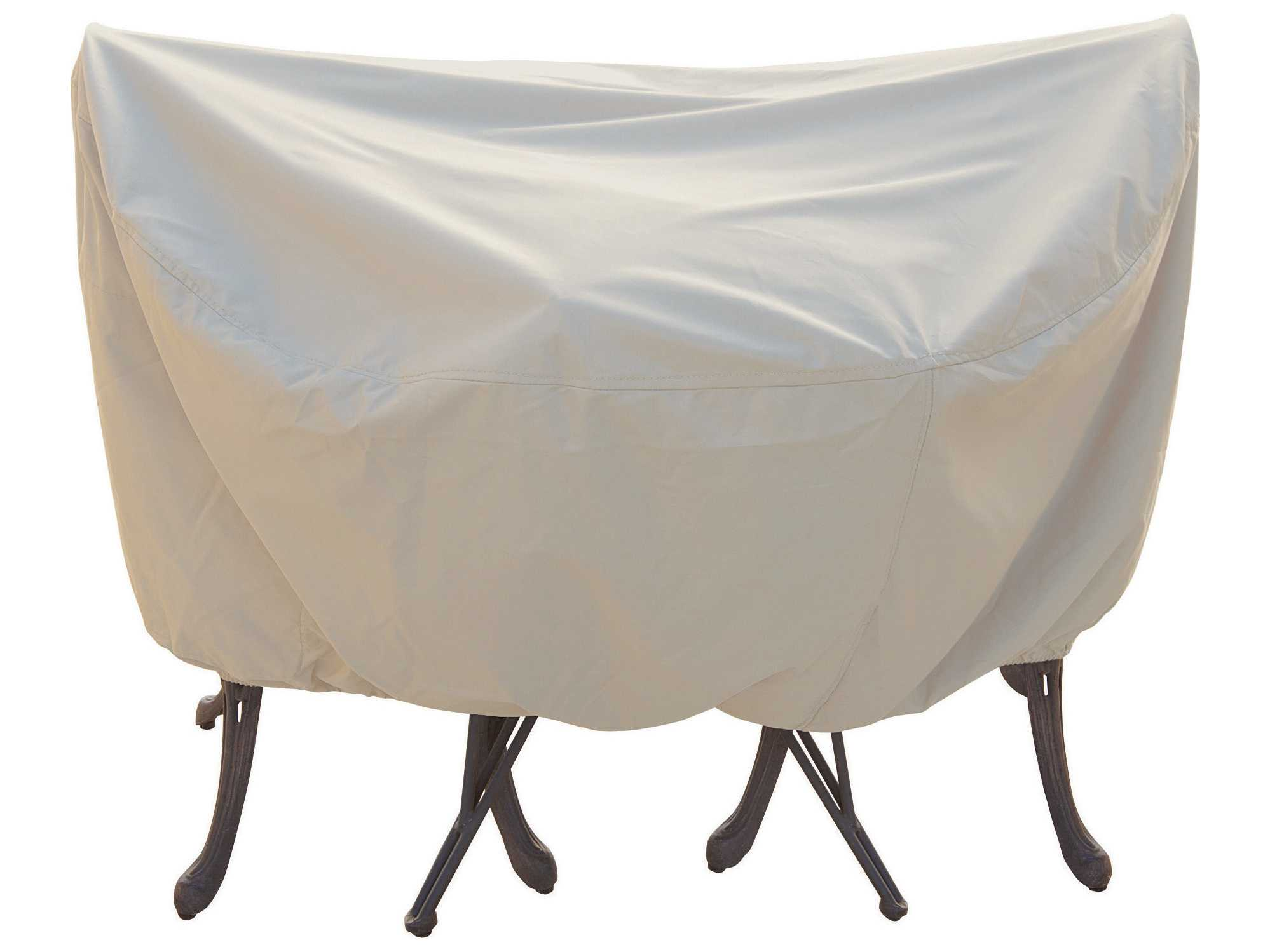 Treasure Garden 36 Bistro Café Table & Chairs Cover with Umbrella Hole