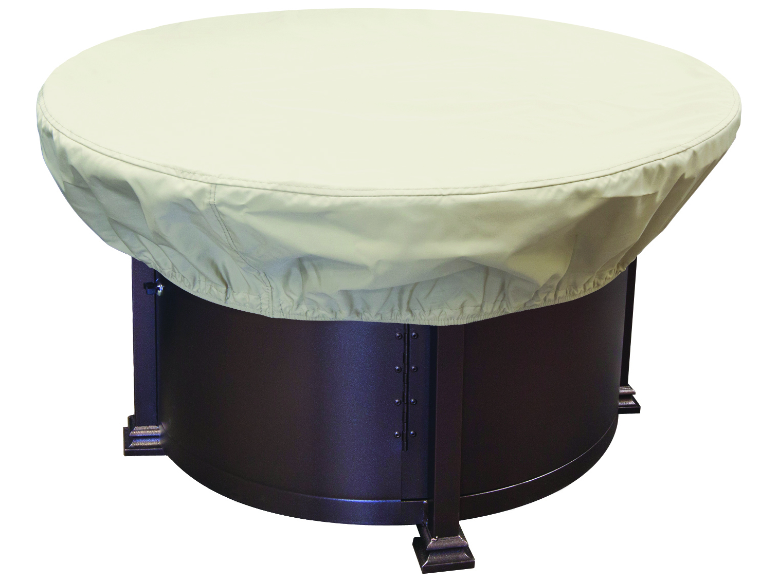 Treasure Garden 36 42 Round Chat And Fire Pit Cover Cp929