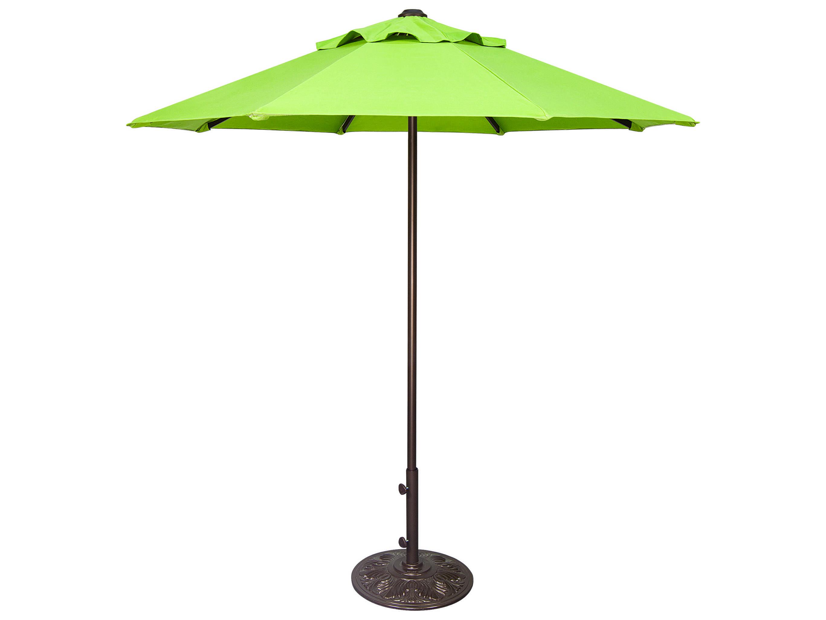 Treasure Garden Commercial Aluminum 7 5 39 Feet Wide Push Up Lift Umbrella Ucp407