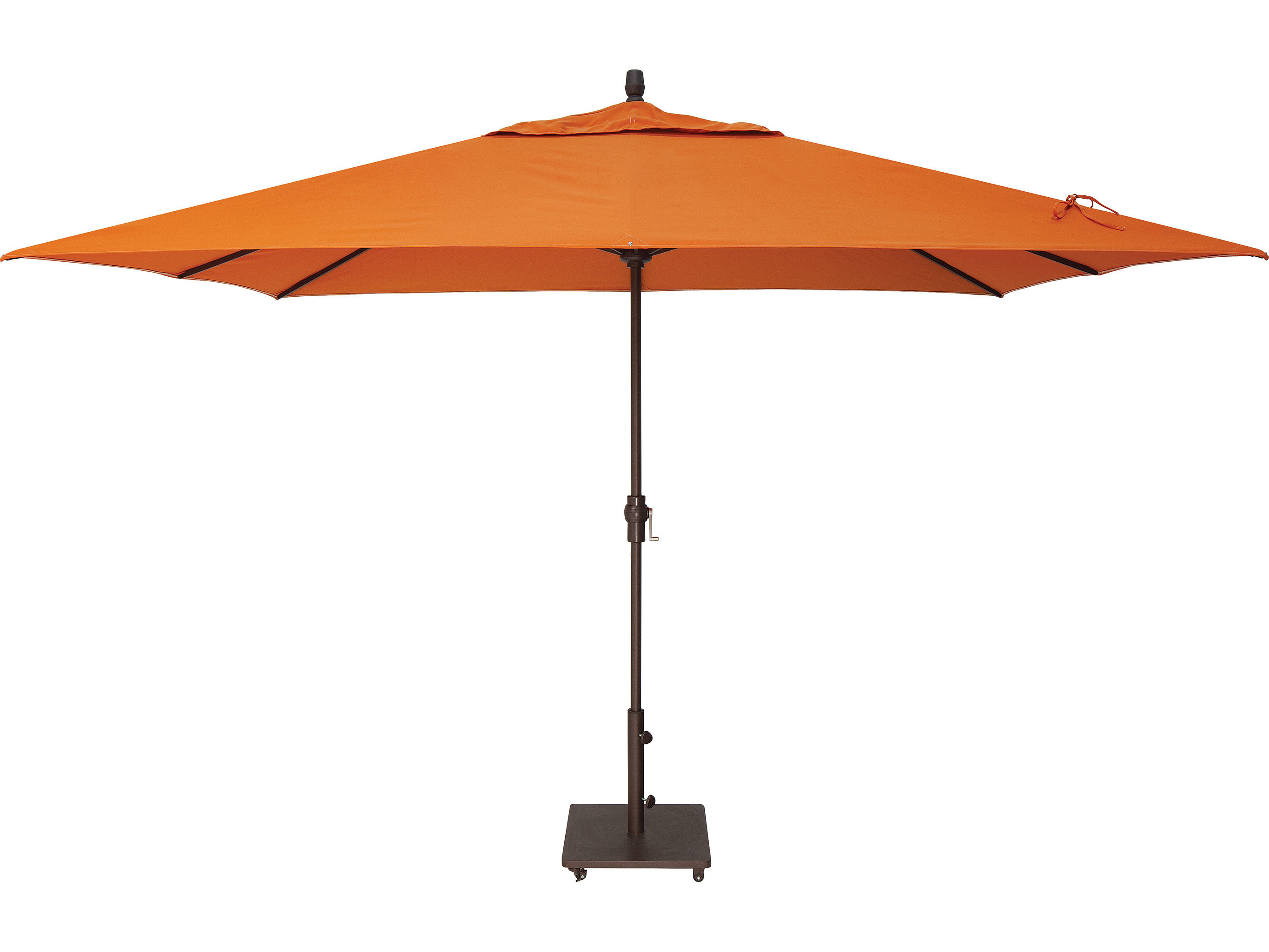 market aluminum 8 39 x 11 39 crank lift rectangular umbrella um8811rt