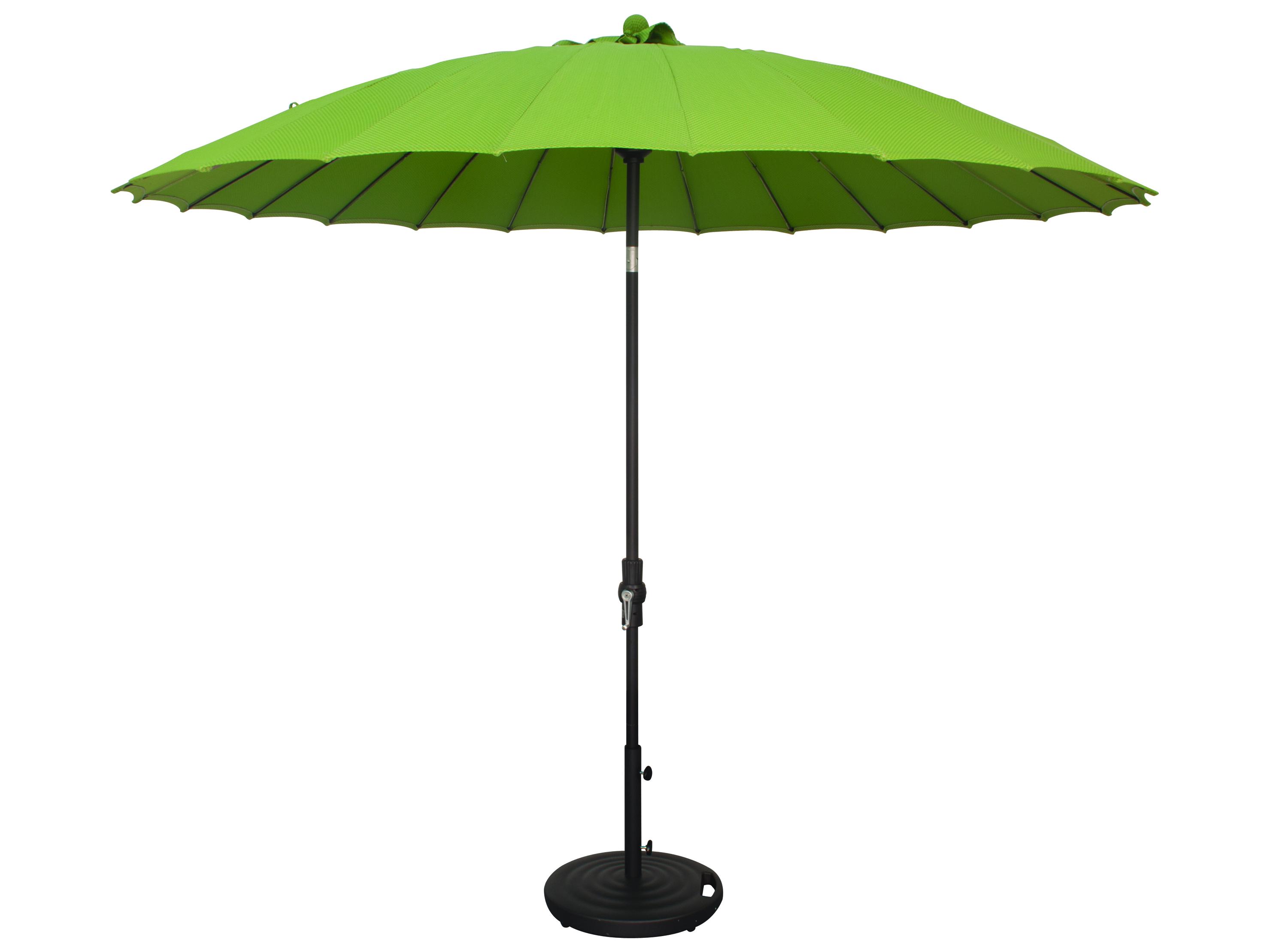 Treasure Garden 10 39 Shanghai Aluminum Round Collar Tilt Crank Lift Umbrella Usa459
