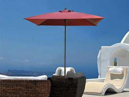 Fiberbuilt Lucaya 6u0027 Square Aluminum Umbrella FREE SHIPPING From $610.00