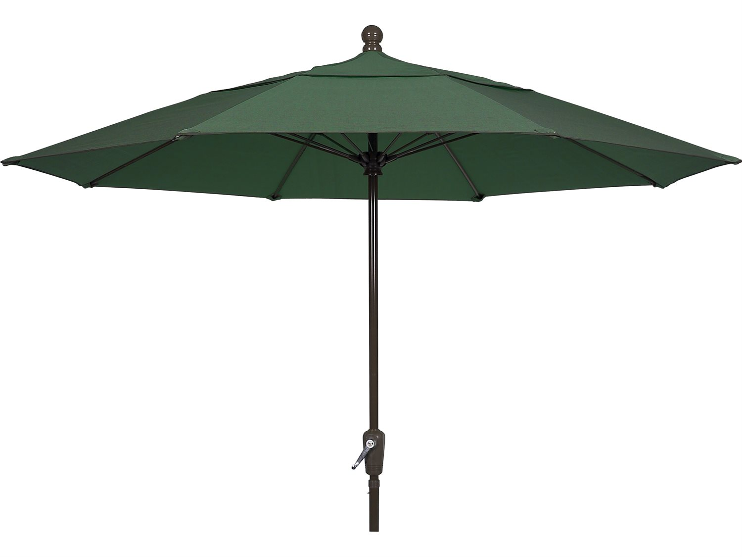 Fiberbuilt umbrellas terrace quick ship 9 foot wide crank for Terrace umbrellas