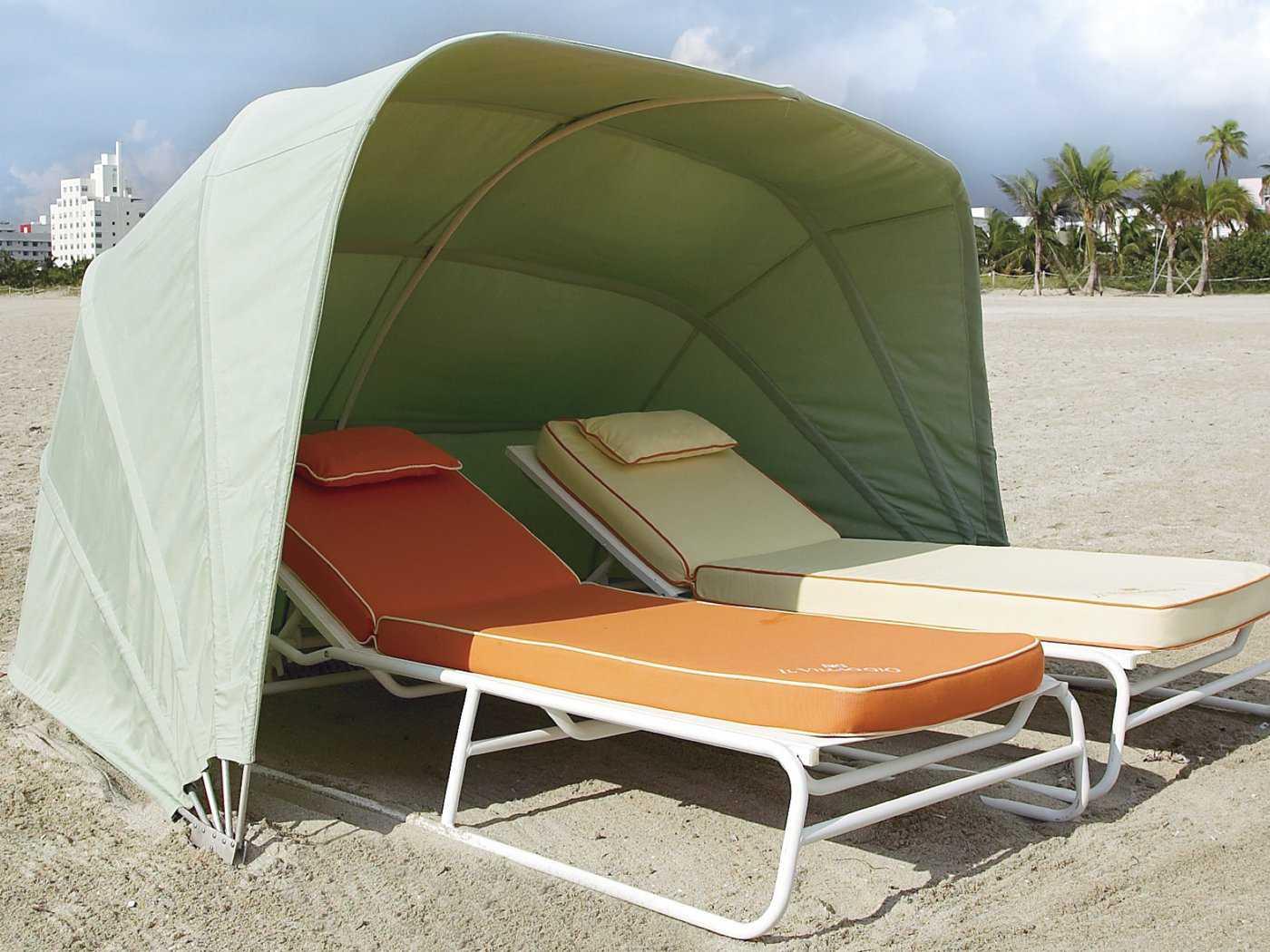 Fiberbuilt Beach Cabana Cabana