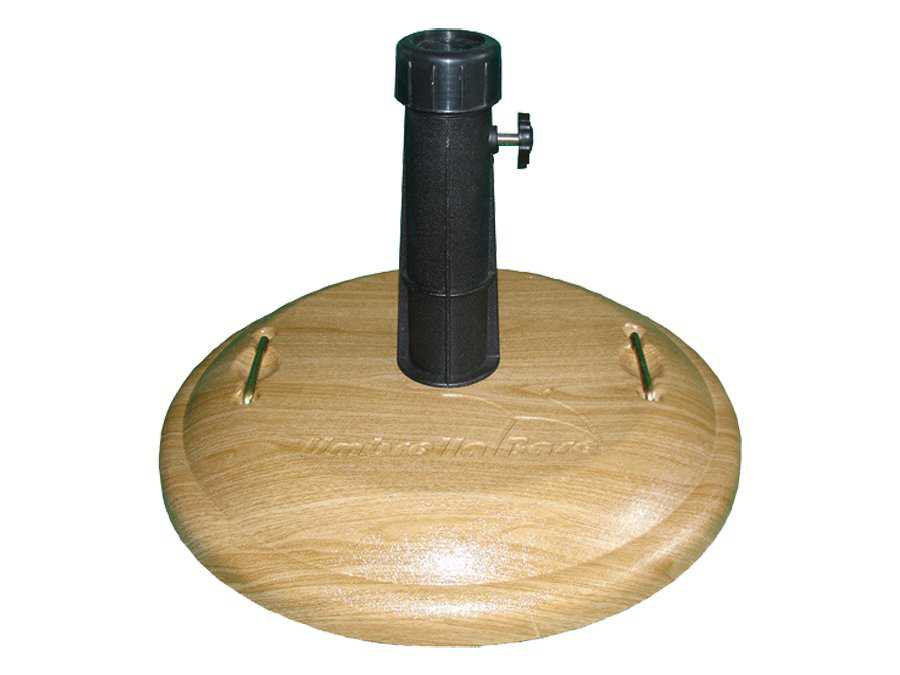 Countertop Umbrella Holder : Fiberbuilt Concrete Basket Weave 19 55 Pound Umbrella Base
