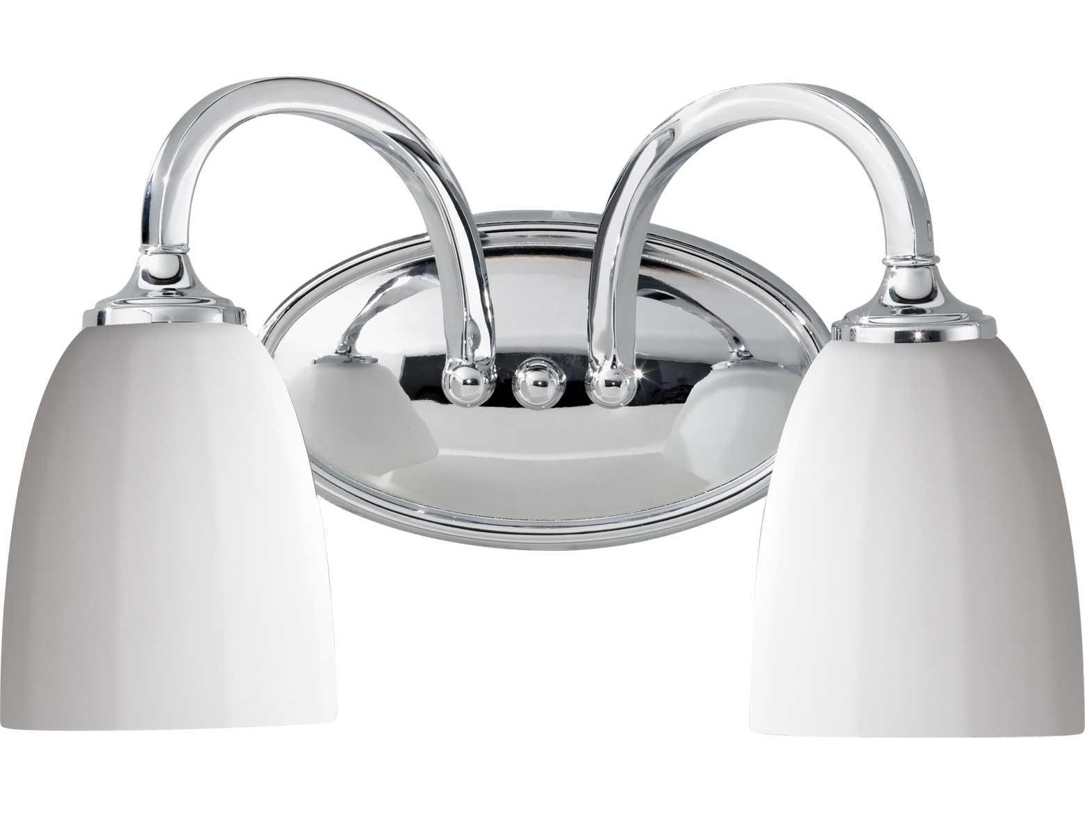Feiss Perry Chrome Two-Light Vanity Light VS17402-CH