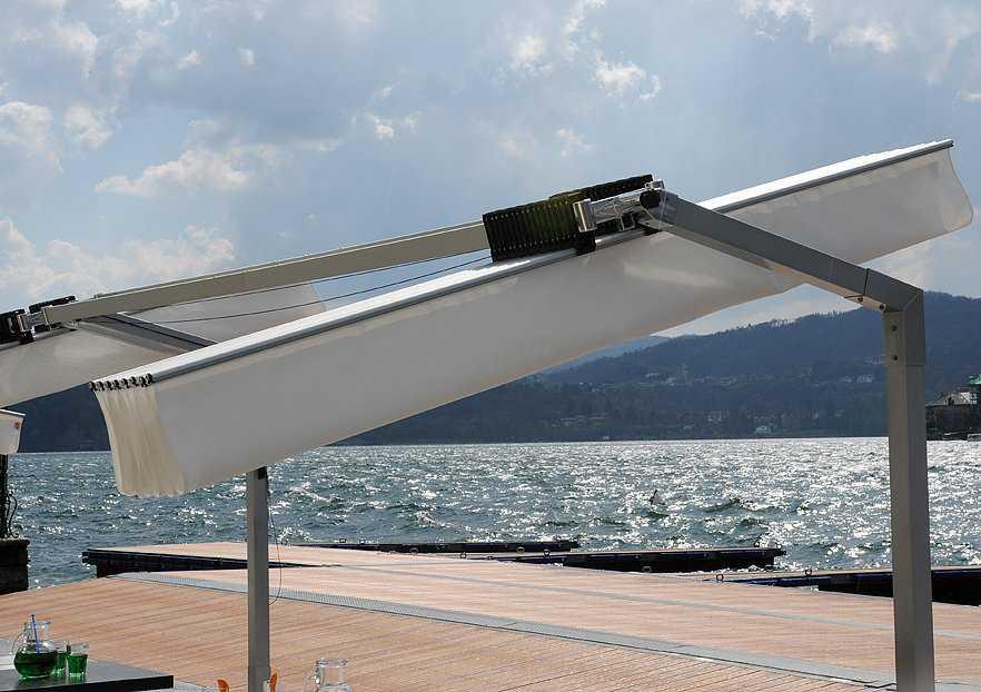 Fim Flexy Aluminum 8 X 14 Rectangular Offset Umbrella