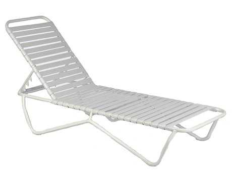 Frankford umbrellas commercial furniture aluminum strap for Chaise commercial
