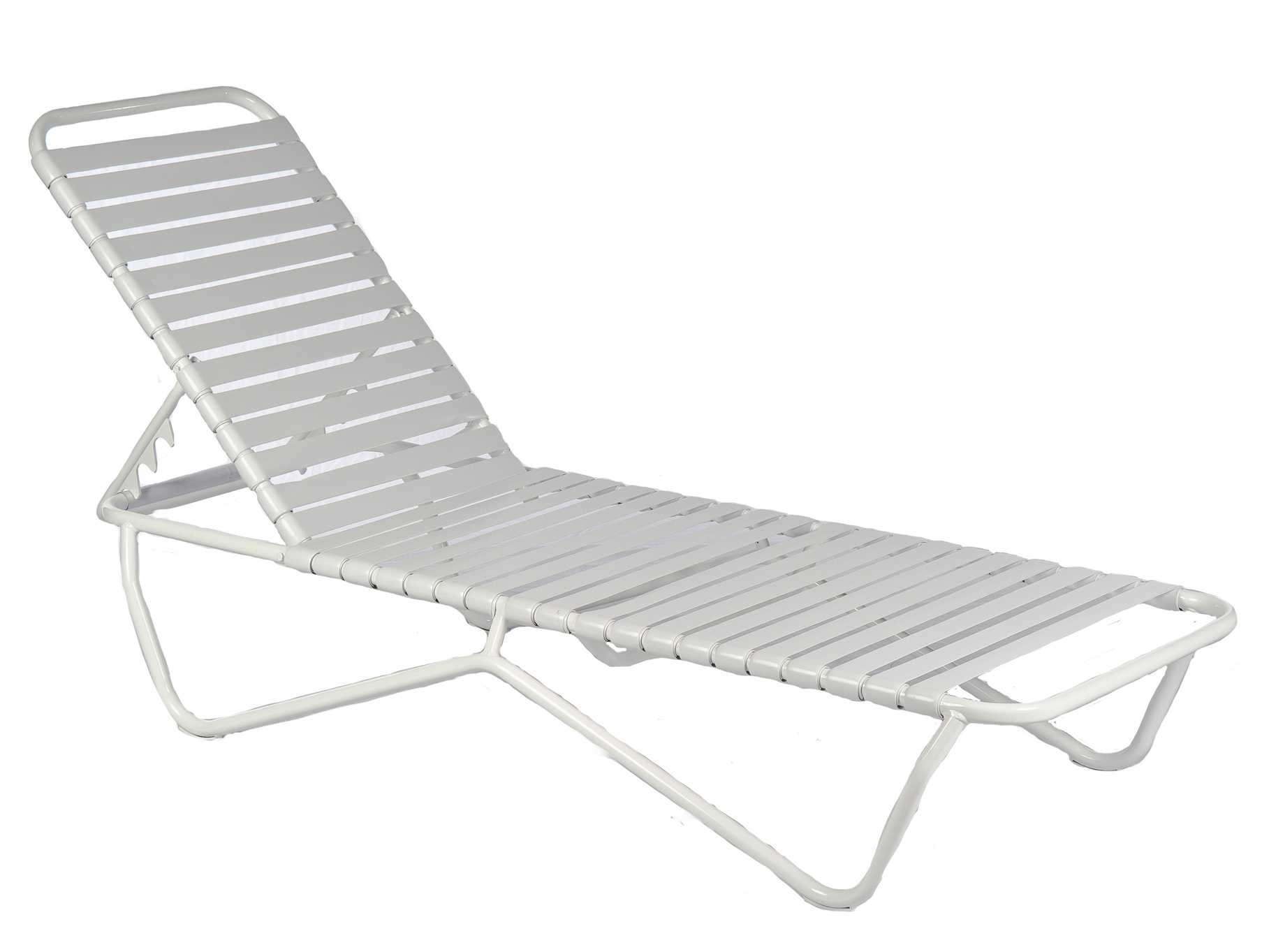 Frankford umbrellas commercial furniture strap chaise lounge for Chaise furniture commercial