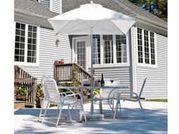 Frankford Monterey Fiberglass Market 7.5 Foot Wide Square Crank No Tilt Umbrella