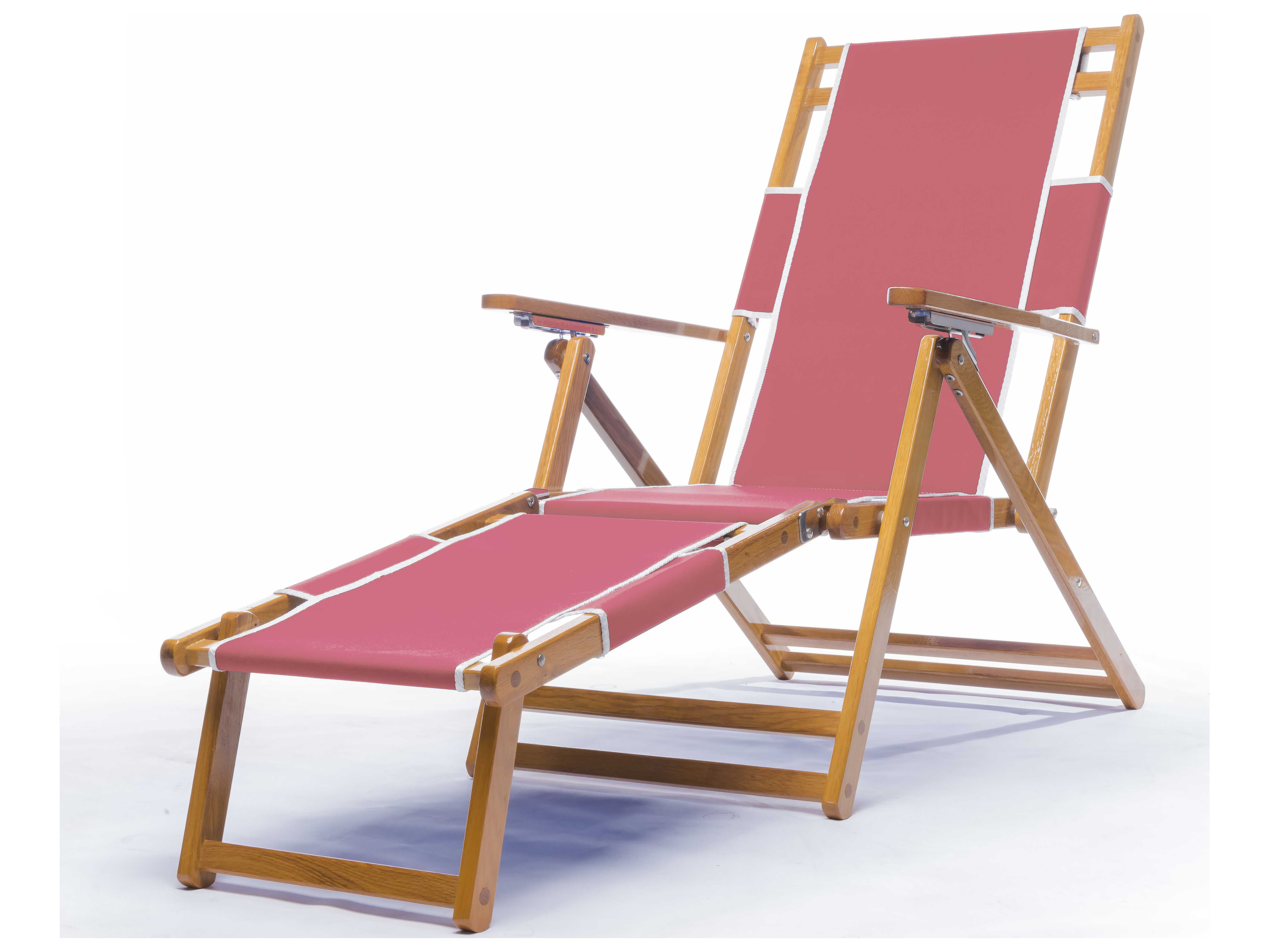 Frankford Umbrellas Wooden Beach Lounge Chair with