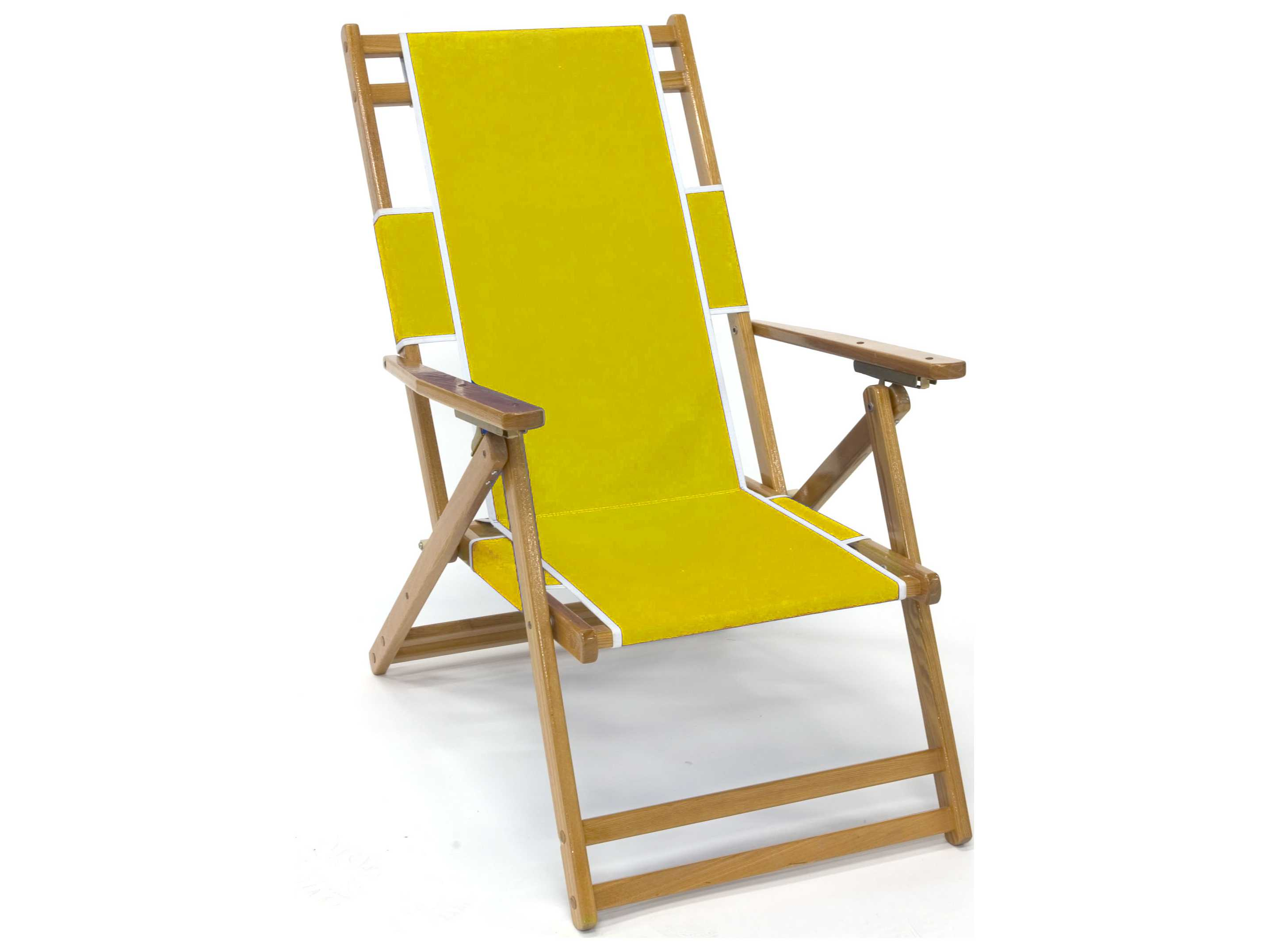 Frankford Umbrellas Wooden Beach Lounge Chair