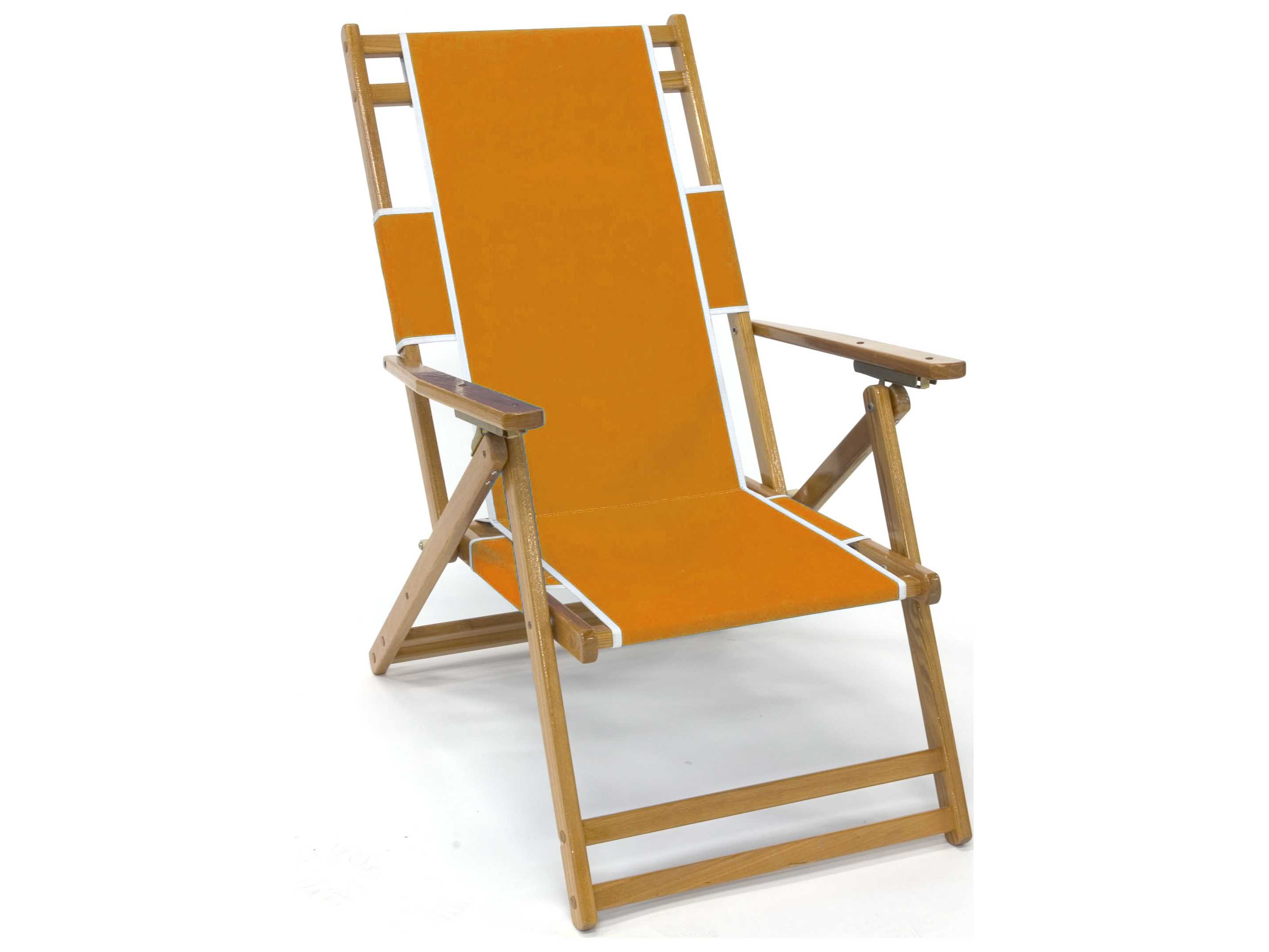 Wooden beach lounge chair - Hover To Zoom