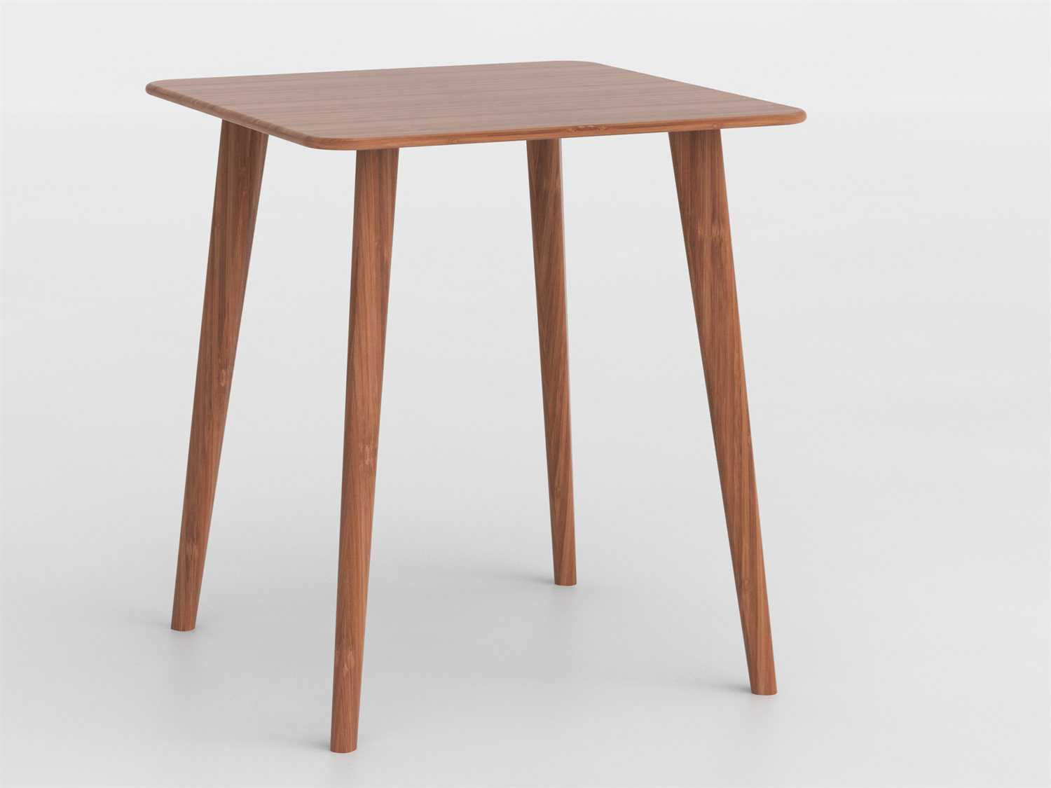Counter Height Entry Table : Greenington Azara 36 Square Caramelized Bar Height Table G0096CA