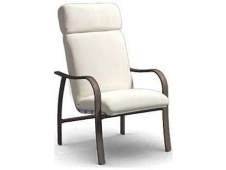 Homecrest Holly Hill Cushion Aluminum High Back Dining Chair 2247F