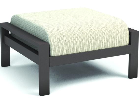 Homecrest Elements Cushion Aluminum Ottoman 5112a