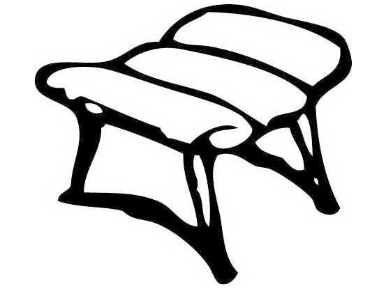homecrest vintage wire frame ottoman replacement cushion