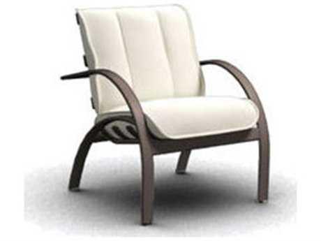 Homecrest Bellaire Aluminum Cushion Arm Patio Dining Chair B3760