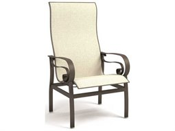 Homecrest Emory Quick Ship Aluminum High Back Dining Chair