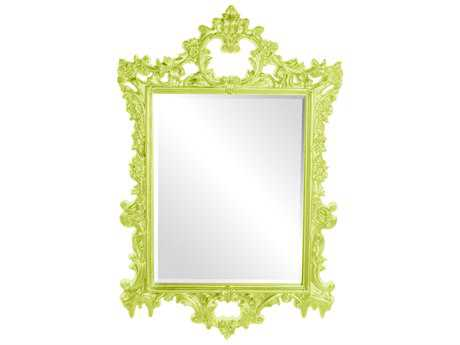 Howard Elliott Sherman 31 x 47 Green Wall Mirror