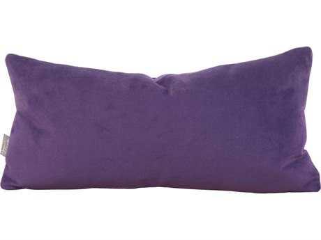 Howard Elliott Bella Eggplant Kidney Pillow