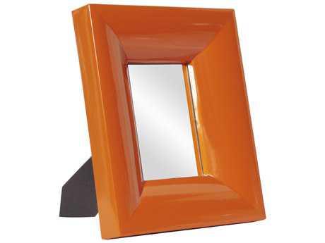 Howard Elliott Candy 10 x 12 Orange Table Top Wall Mirror