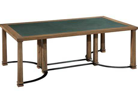 Hekman Weathered Transitions Iron & Blue Stone Coffee Table
