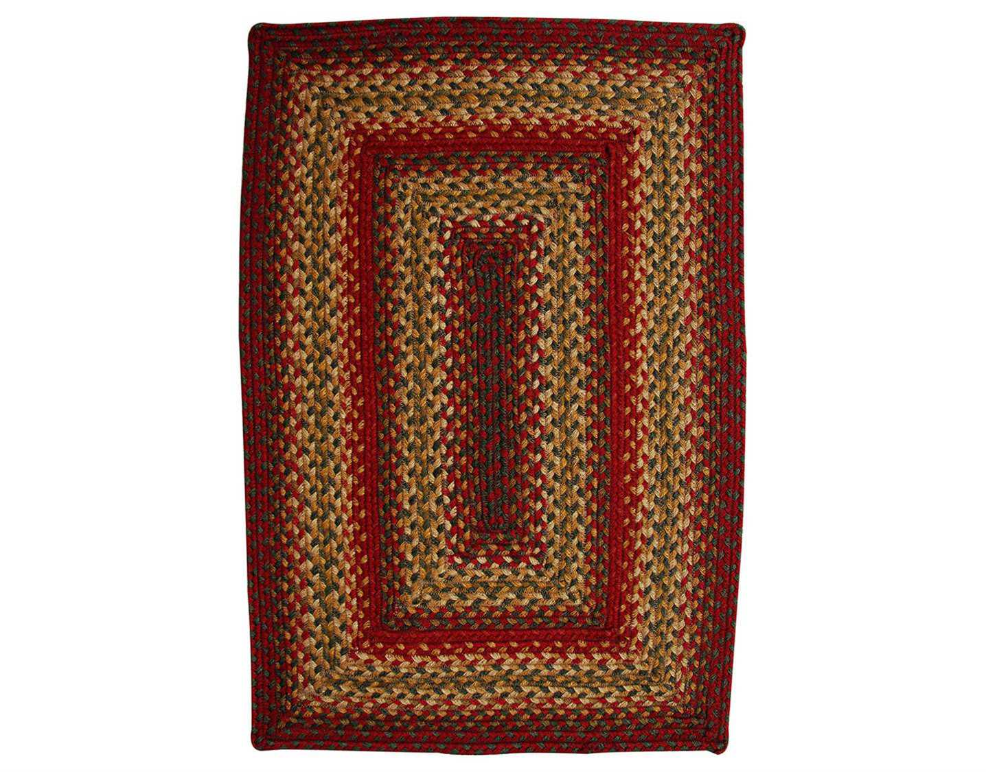 homespice decor jute braided rectangular brown area rug