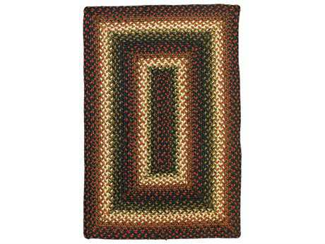Homespice Jute Braided Rugs Modern Braided Jute Geometric Oval 4' x 6' Area Rug - 503565