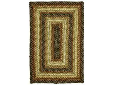 Homespice Ultra Wool Braided Modern Braided Synthetic Geometric 2'3