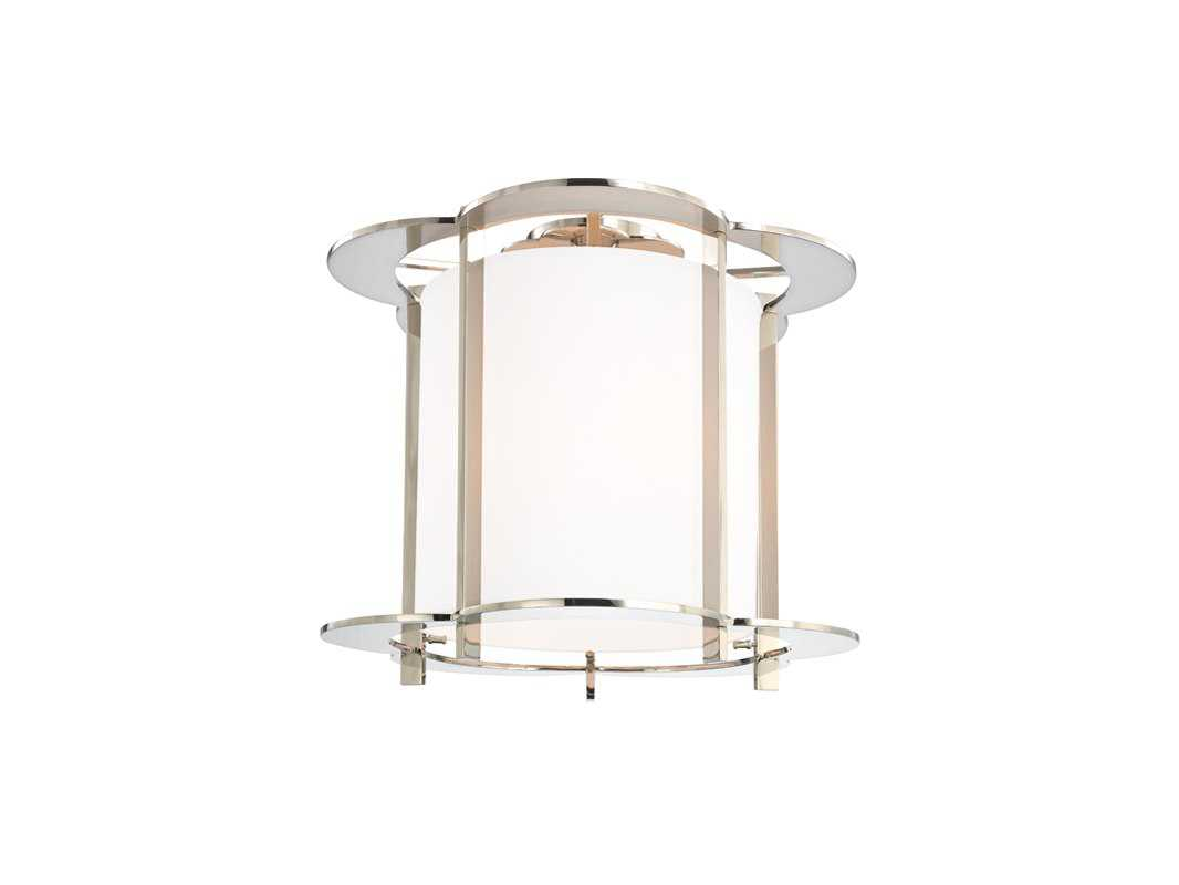Hudson valley lighting warwick warm modern five light semi for Semi flush mount lighting modern