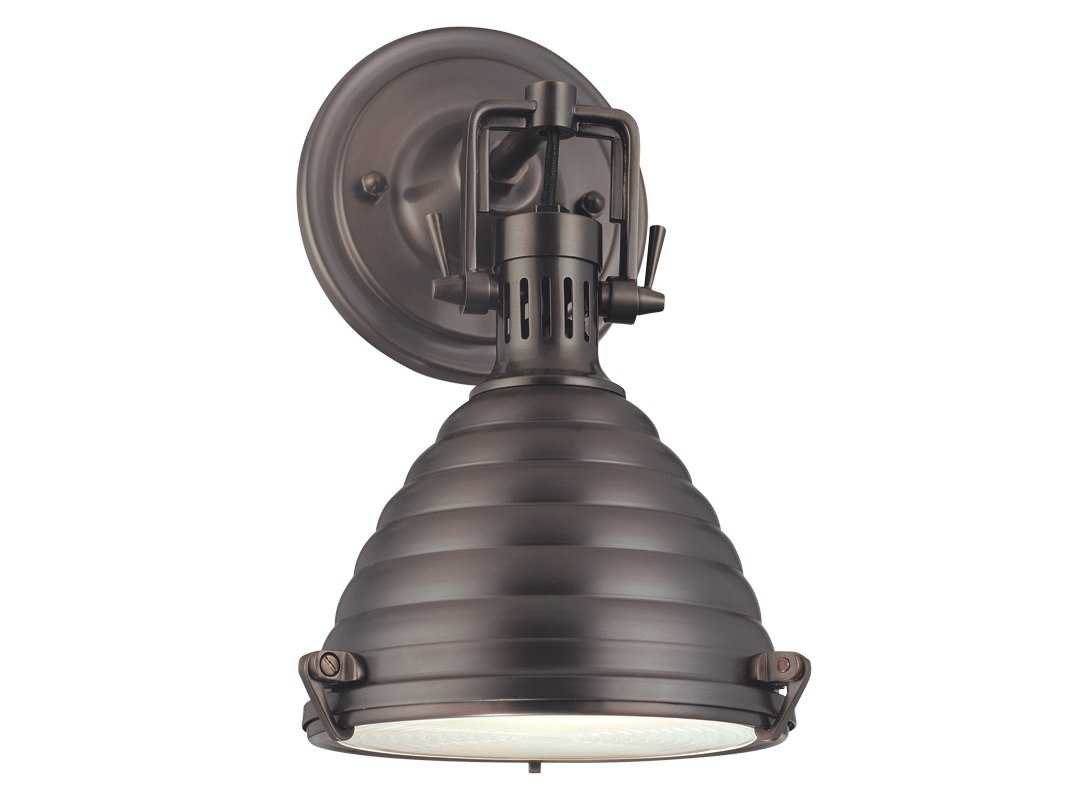 Industrial Chic Wall Sconces : Hudson Valley Lighting Naugatuck Chic Vintage & Industrial Wall Sconce 5108