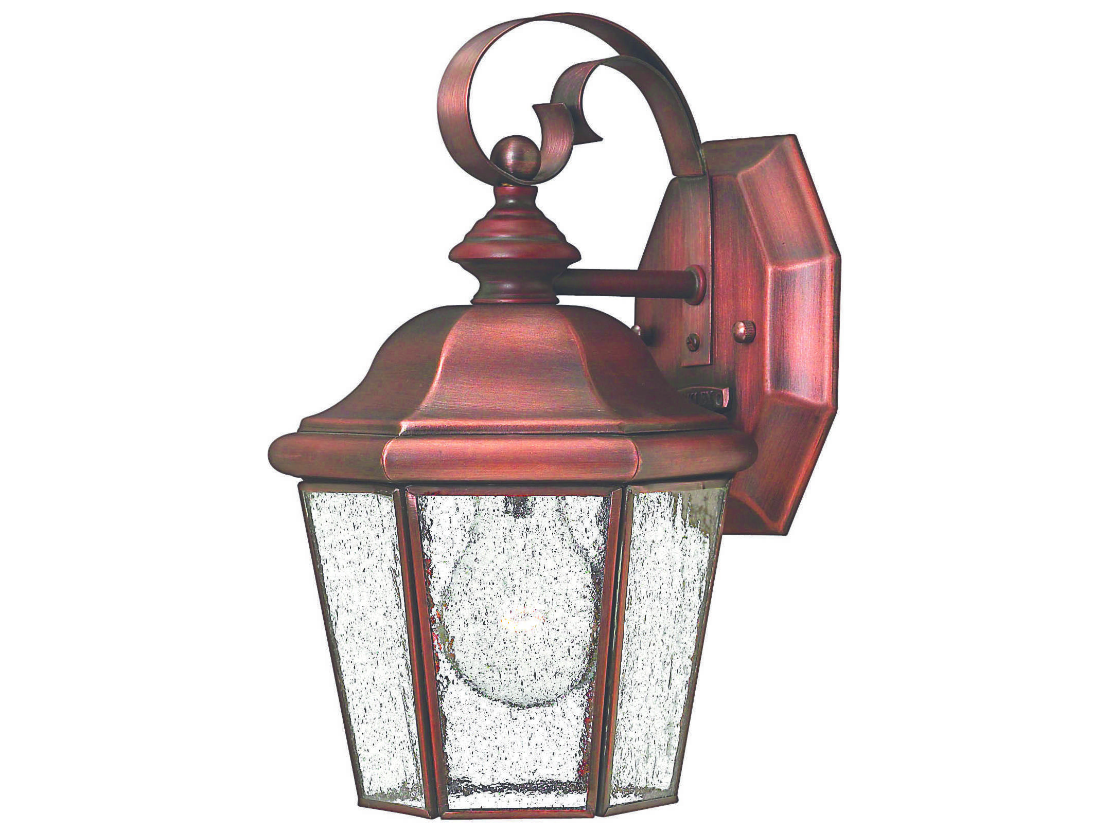 Vintage Copper Wall Lights : Hinkley Lighting Clifton Beach Antique Copper Outdoor Wall Light 2260AP