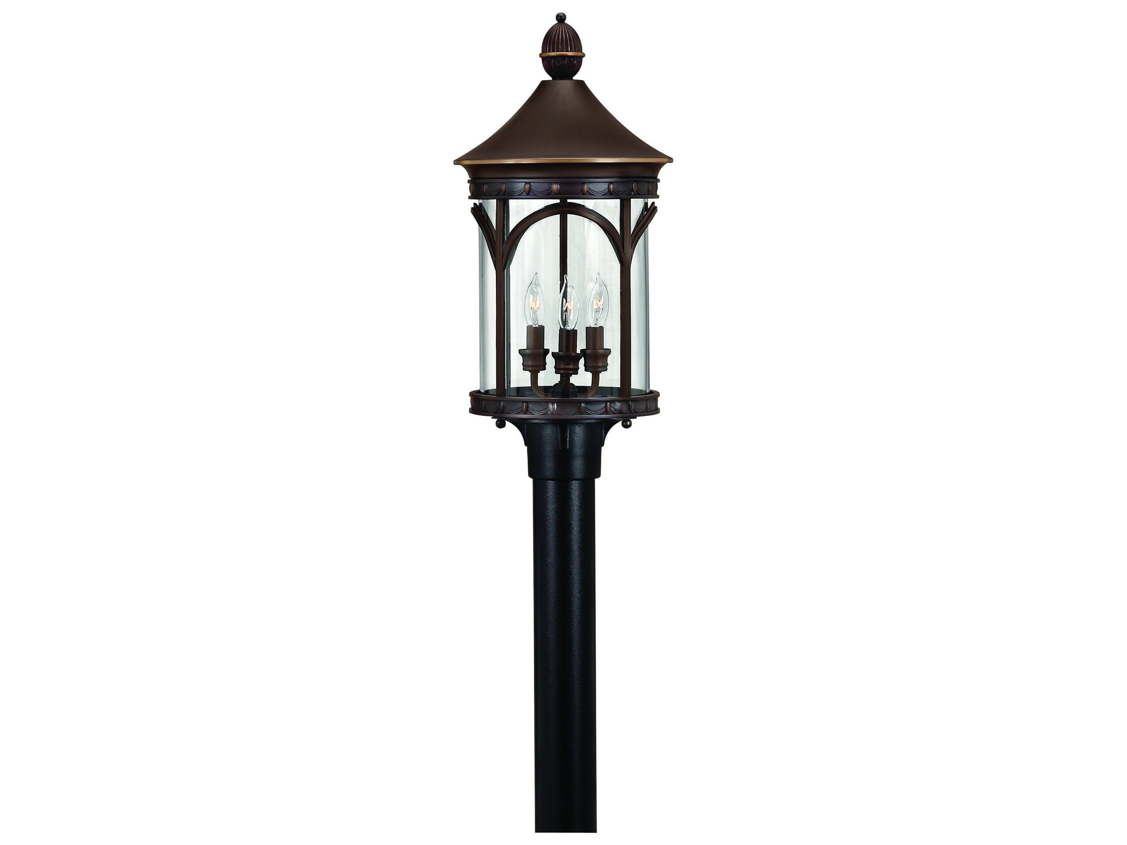 Hinkley Lighting Lucerne Copper Bronze LED Outdoor Post Light 2317CB LED